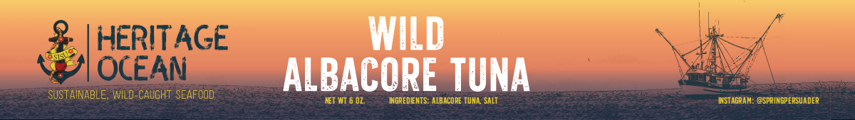 Tuna can label update