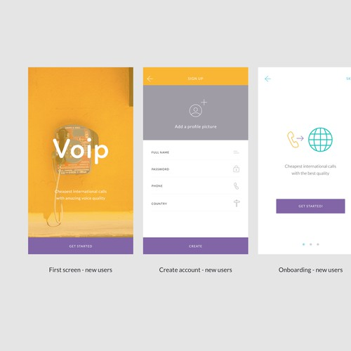 International calling app