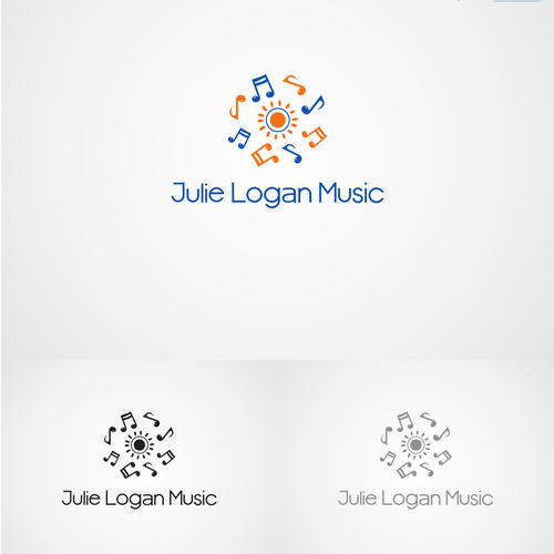 Create a logo for an early childhood music program that sings!