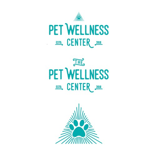 Bold logo for pet services - Veterinary