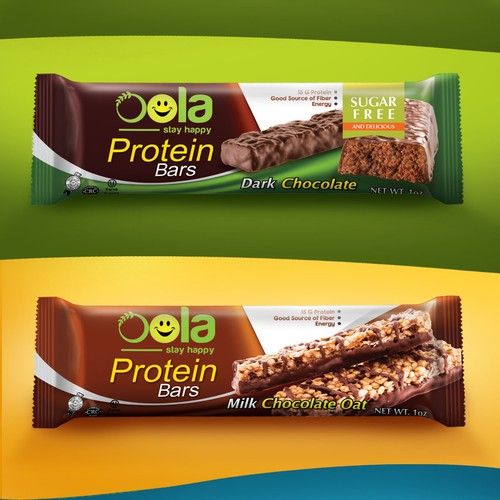 Packaging Design For Oola Protein Bar