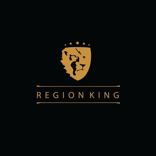 Create powerful logo for Region King
