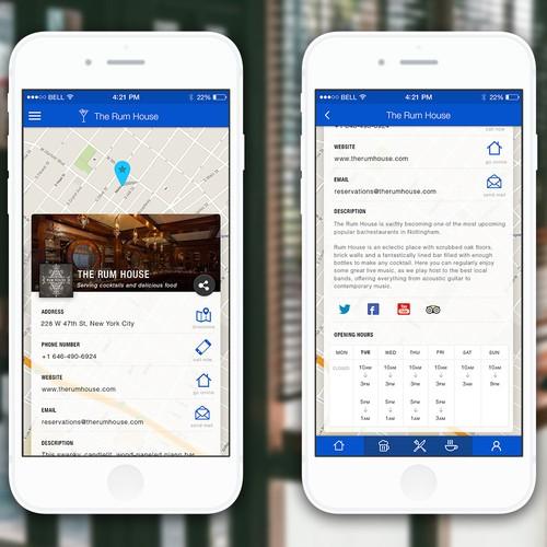 Mobile Bar / Restaurante App
