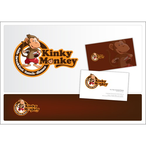 Help Kinky Monkey with a new logo