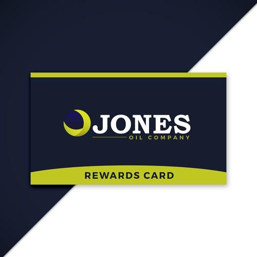 Logo and rewards card concept