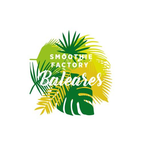 Logodesign für Smoothie Factory Balears