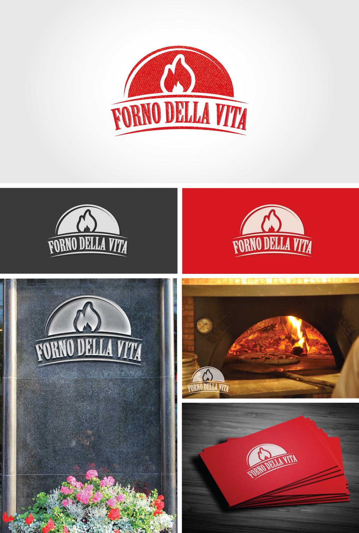 Create the next logo for Forno Della Vita
