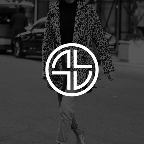 Ambigram A + L logo