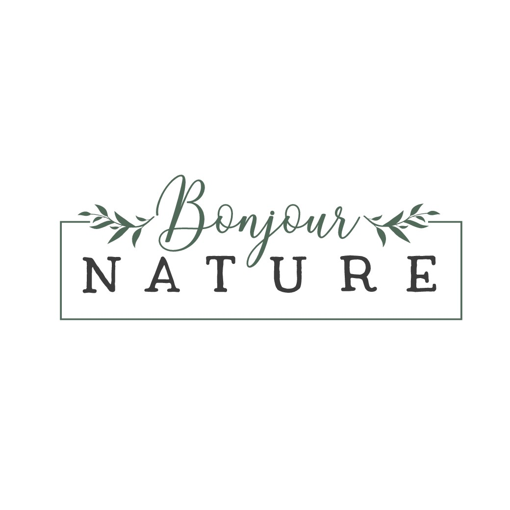 "Design a sophisticated logo for ""Bonjour Nature"" ,  natural soaps and cosmetics"