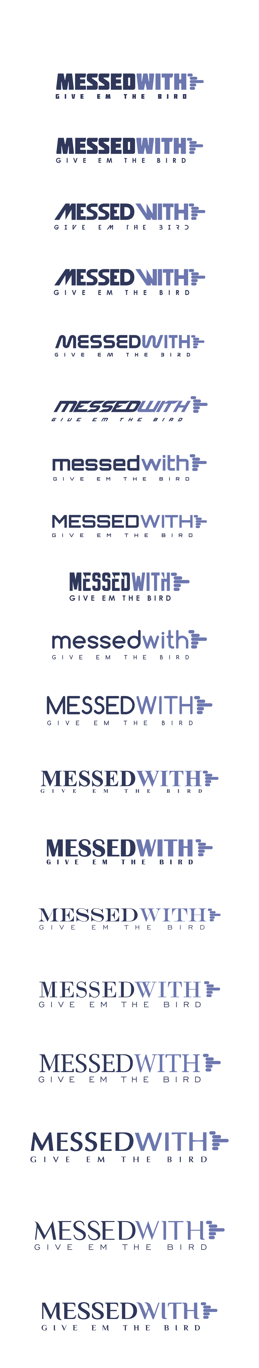'Messed With' Logo Design