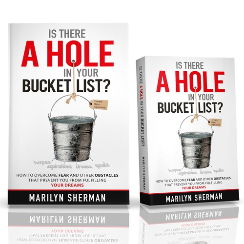Design a powerful creative book cover for self-help motivational book.