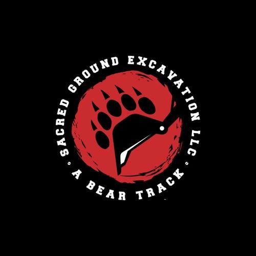 Sacred Ground Excavation Logo design concept