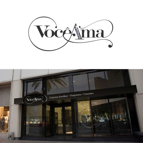 Affordable Luxury You Will Love - Logo Design for Vocêama