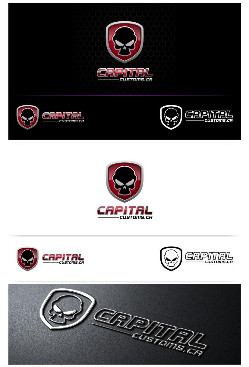 logo for Capital Customs
