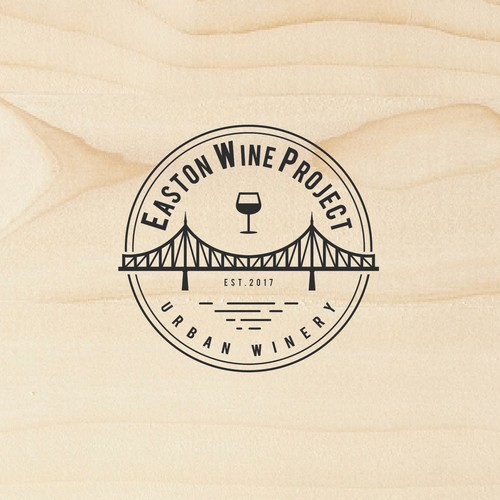 Logo for urban winery in Easton
