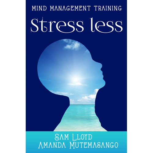 Create a front page that illustrates stress reduction