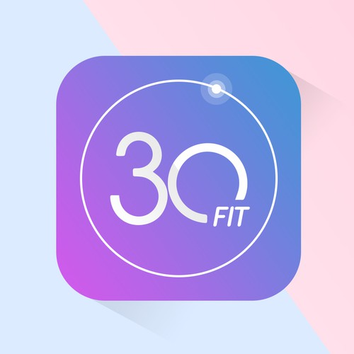 Fit30 - Fitness App Icon