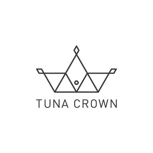 Logo - tuna crown