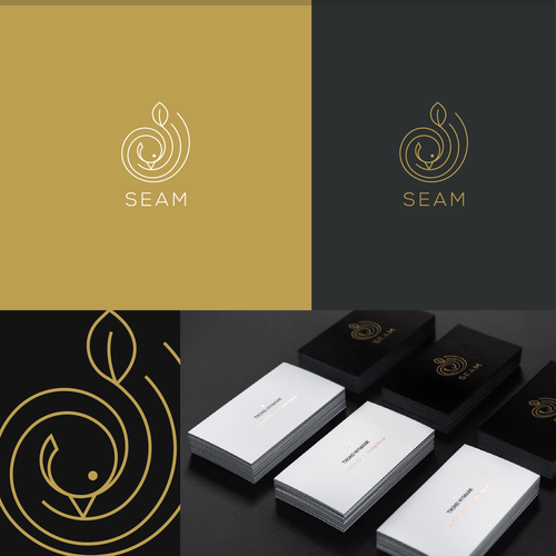 Minimal SEAM logo