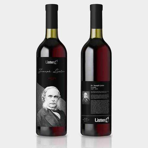 Corporate Gift Wine Bottle Label