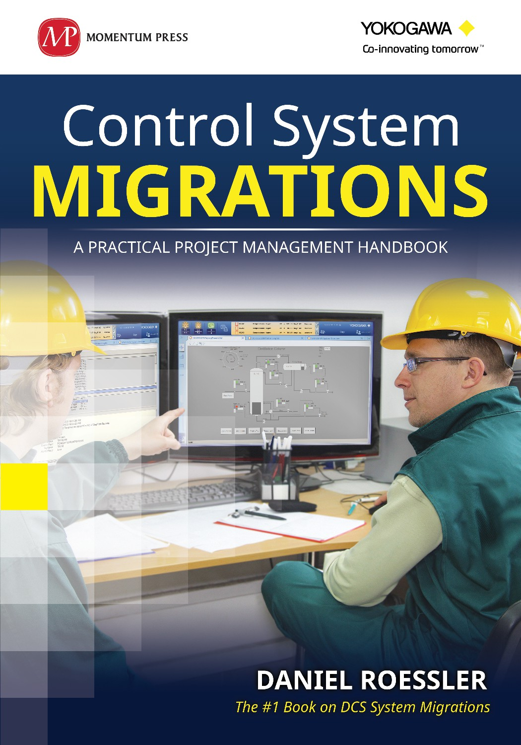 Control System Migration ebook cover needed for a large multi-national corporation.