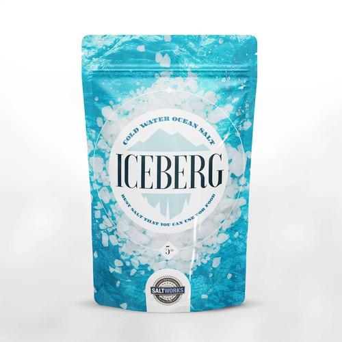 Iceberg ocean salt package.