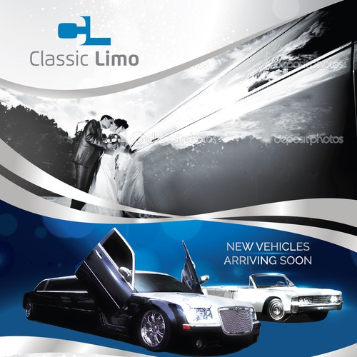 Full Page Wedding Ad for Limo Company