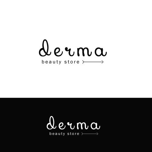 Logo for Derma Beauty store