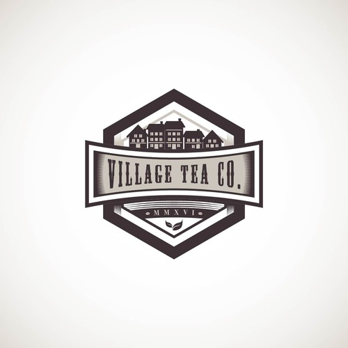 Proposed Logo Design for Village Tea Co.