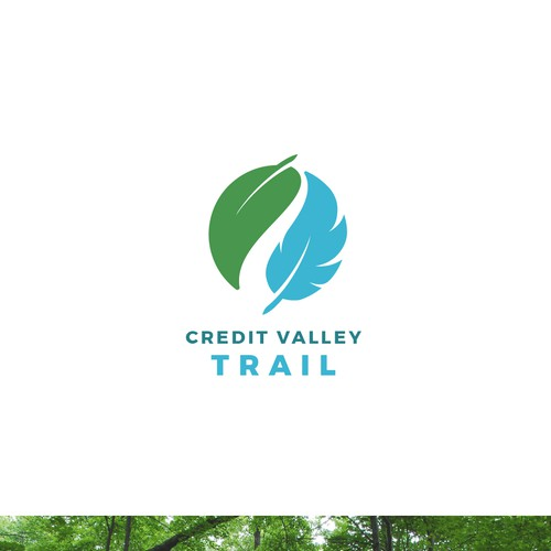 Credit valley trail logo