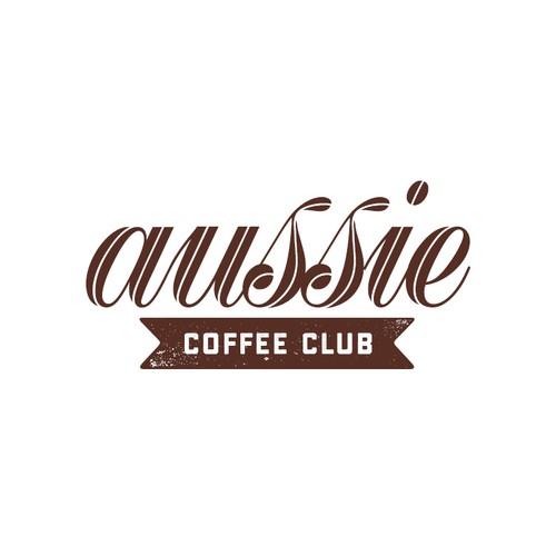 logo for a new Aussie coffee bar