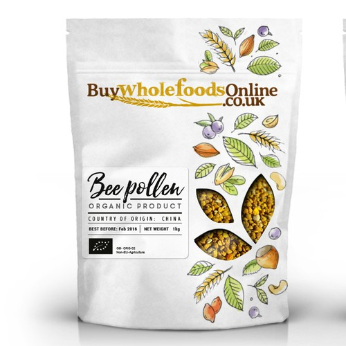 Fresh, clean and earthy new packaging for whole food products