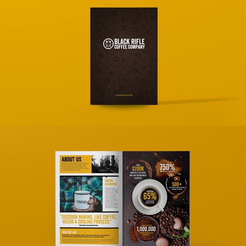 Electronic Press Kit for Coffee Company