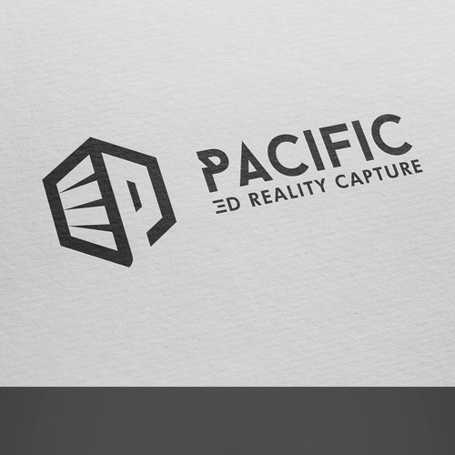 Logo concept for Pacific 3D Reality Capture