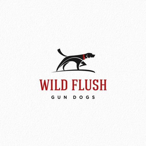 Simple and Bold Logo for Gun Dog Kennel