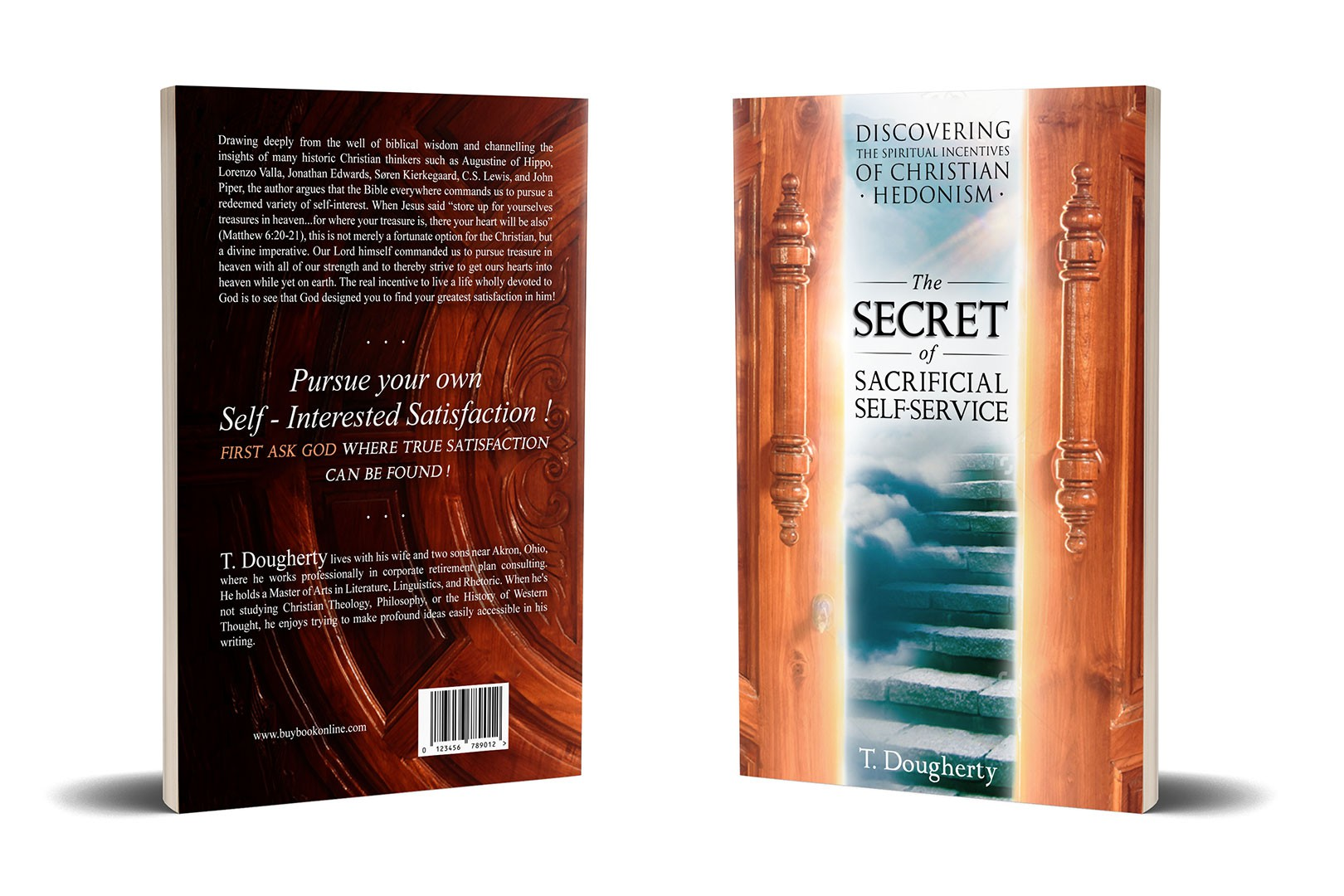 """Create a compelling """"Christian Living"""" book cover about a glorious secret"""