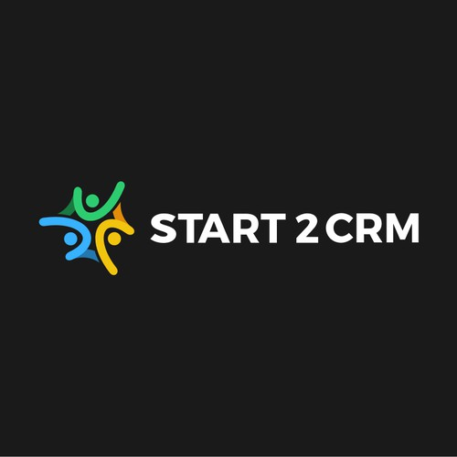 Logo for a CRM software package