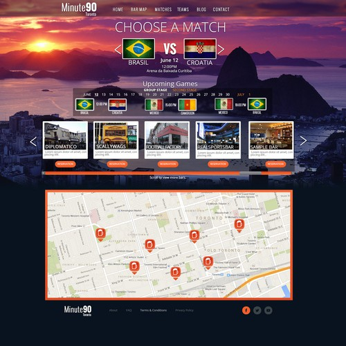 Brazil World Cup 2014: news and events website !