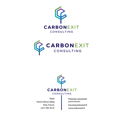 logo & BC concepts for Carbonexit