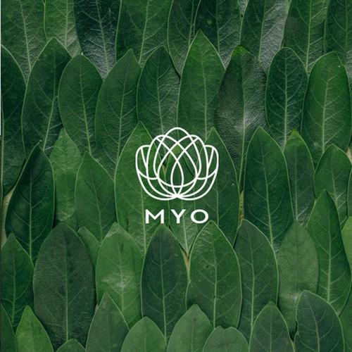 Clean logo for Yoga Instructors mobile app
