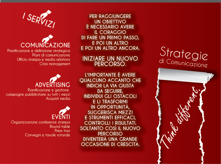 Nuovo brochure design richiesto per Ilaria Benedetto