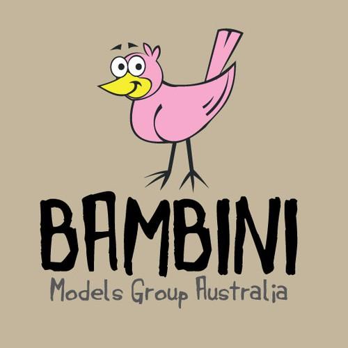 Create the next Logo Design for Bambini Models Group Australia (incorporating Bambini Models & Elite Kids)