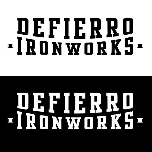 Logo for Defierro Ironworks