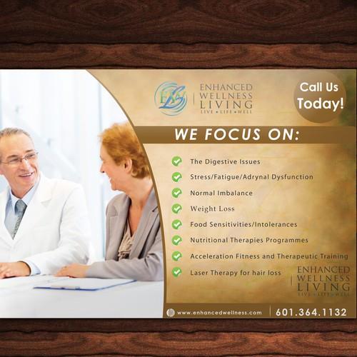 Enhanced Wellness Living post card