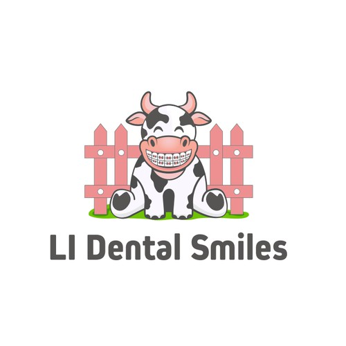 logo and brand identity for li dental smiles