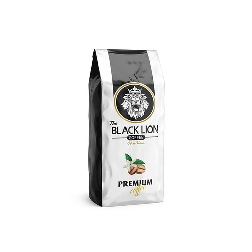 Packaging proposal for black coffee