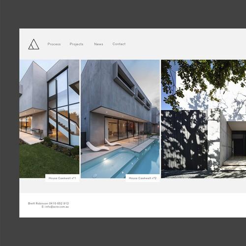 Architecture Web Design