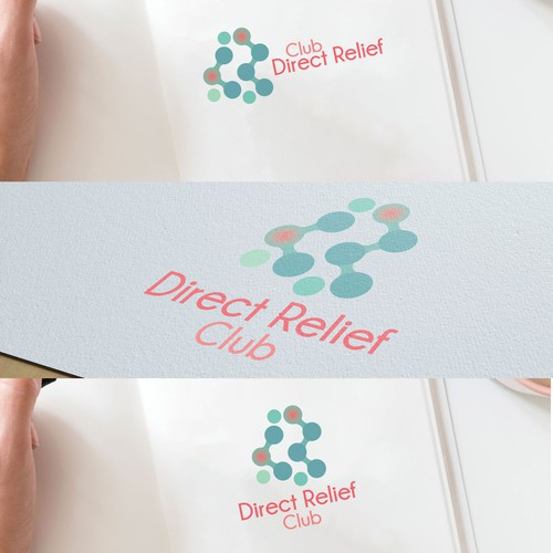 Modern Logo For Direct Relief Club