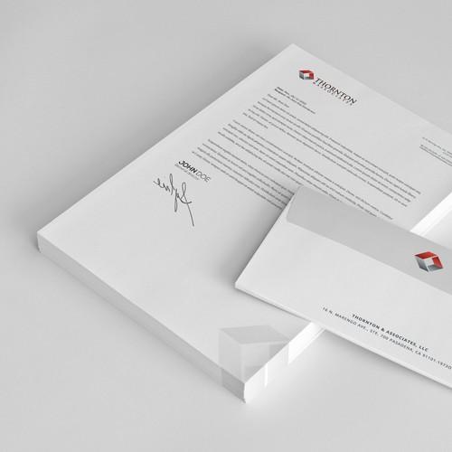 TAA Letterhead & Envelopes