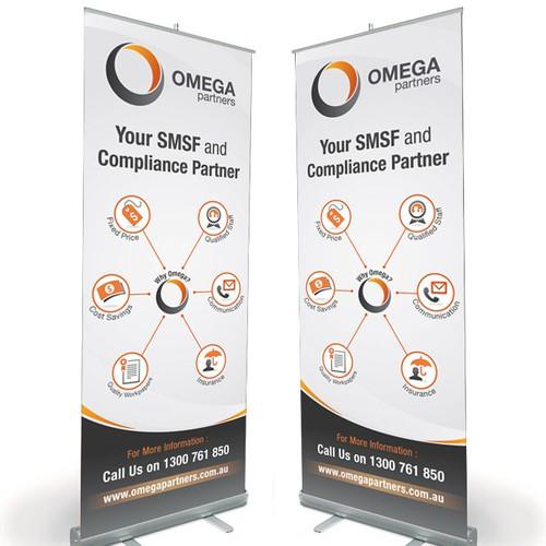 Banner for Omega Partners
